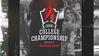 College Championship 2019 - Login Screen