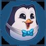 Emotka Niebieski Podjarany Pingu