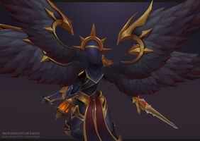 Kayle Update Eiserne Inquisitorin model 03