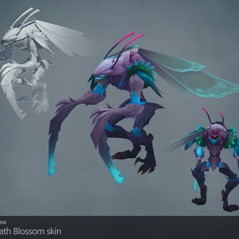 Death Blossom Kha'Zix Model (by Riot Artists <a href=
