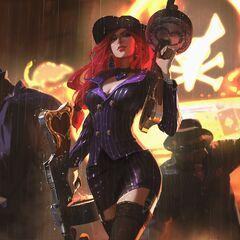 Crime City Miss Fortune Update Splash Concept 4 (by Riot Artist <a href=