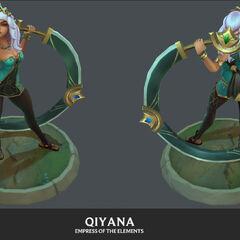 Qiyana Model 2 (by Riot Artist <a href=
