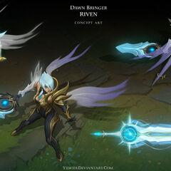 Dawnbringer Riven Concept (by Riot Artist <a href=