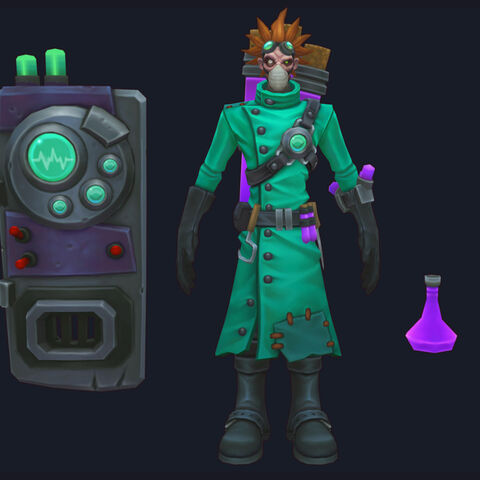 Mad Scientist Singed Update Model (by Riot Artist <a rel=
