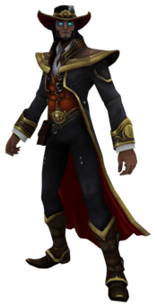 Twisted Fate Render