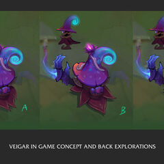 Elderwood Veigar Concept 4 (by Riot Artist <a href=