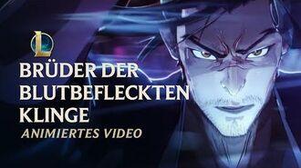 """Brüder der Blutbefleckten Klinge """"Seelenblumen 2020""""-Videosequenz – League of Legends"""