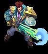 Graves BattleProfessor (Turquoise)
