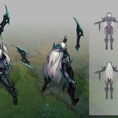 Nightblade Irelia Update Concept (by Riot Artist <a href=