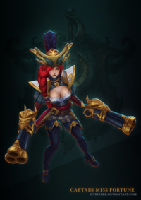 Miss Fortune Käpt'n model 2