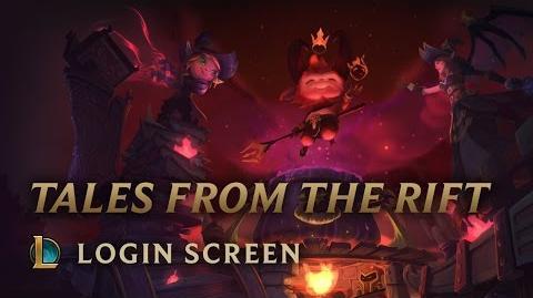 Opowieści z Rift 2016 - ekran logowania
