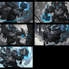 Thunder Lord Ornn Splash Concept 1 (by Riot Artist <a href=