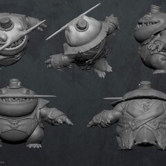 Tahm Kench Model (by Riot Artist <a href=