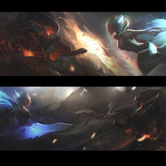 Versus 2017 Promo Concept (by Riot Artist <a href=