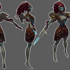 Haunted Zyra Model