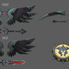Pentakill Kayle Model 3 (by Riot Artists <a href=