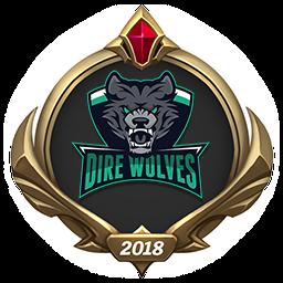 MSI 2018 Dire Wolves Emote