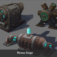 Nexus Siege Turret Concept 5 (by Riot Artist <a rel=