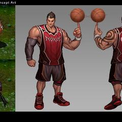 Dunkmaster Darius Concept (by Riot Artist <a href=