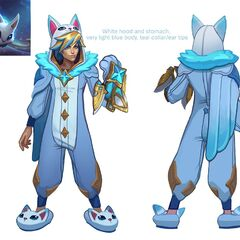 Pajama Guardian Ezreal Concept (by Riot Artist <a href=