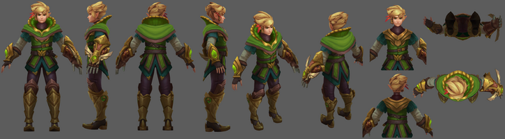 Ezreal Update Nottingham- Model 01