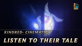 Kindred Listen to Their Tale New Champion Teaser - League of Legends