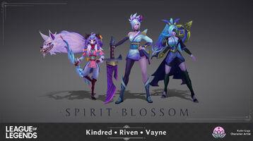 Kindred Riven Vayne Seelenblumen Model 01