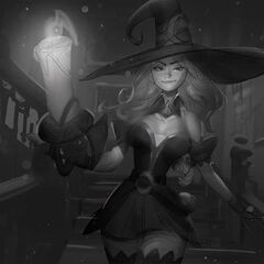 Bewitching Miss Fortune Splash Concept 3 (by Riot Artist <a rel=