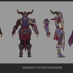 Dragonslayer Pantheon Update Concept 2 (by Riot Artist <a href=