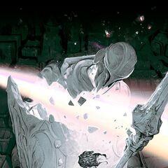 Visions of Demacia 1 (by Riot Artist Elena 'Hellstern' Bespalova)