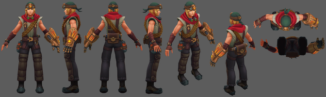 Ezreal Update Erkunder- Model 01