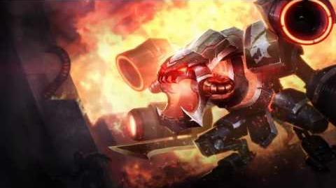 Battlecast Prime Cho'Gath League Of Legends Login Screen With Music