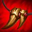 Colar de Presas (Vermelho) (3 Troféus) item
