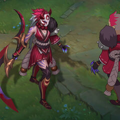 Blood Moon Diana Concept (by Riot Artist <a href=