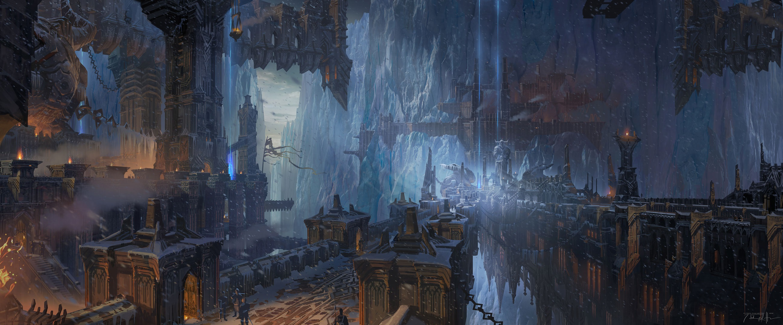 Freljord Warded Gateway To The Howling Abyss