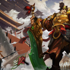 Warring Kingdoms Garen Splash Concept 2 (by Riot Artist <a href=