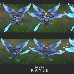 Silver Kayle Update Concept 1 (by Riot Artist <a href=