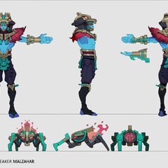 Worldbreaker Malzahar Concept 2 (by Riot Artist <a href=