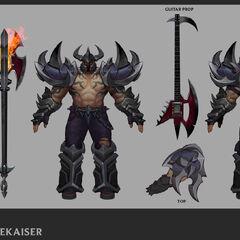 Pentakill Mordekaiser Update Concept (by Riot Artist <a href=