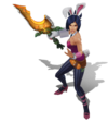 Riven BattleBunny (Rose Quartz)