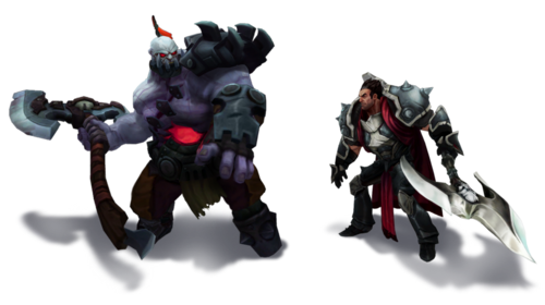 Sion vs Darius Render