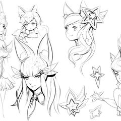 Star Guardian 2017 Concept 1 (by Riot Artist <a href=