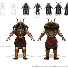 Viking Tryndamere Concept (by Riot Artist <a href=
