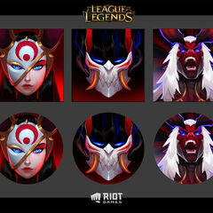 Blood Moon Icons Concept (by Riot Artist <a href=