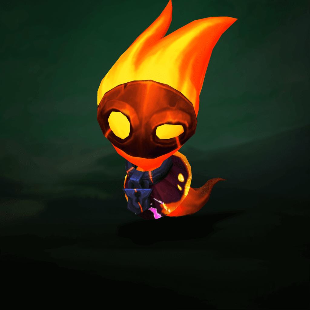 Fantasmín Nacido del fuego Nivel 1
