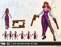 Miss Fortune Update SecretAgent Concept 01
