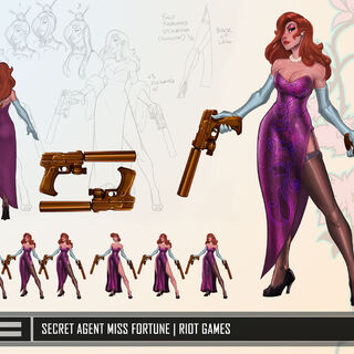Secret Agent Miss Fortune Update Concept (by Riot Artist <a href=