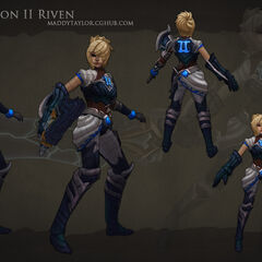 Championship Riven Model 2 (by Riot Artist <a href=