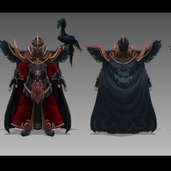 Tyrant Swain concept art (by Riot Artist <a rel=