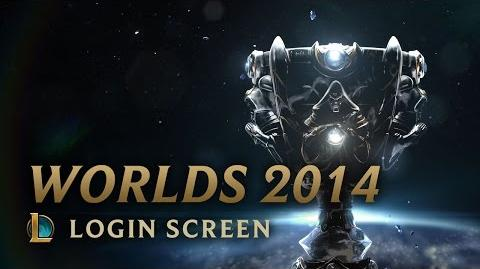 World Championship 2014 - Login Screen